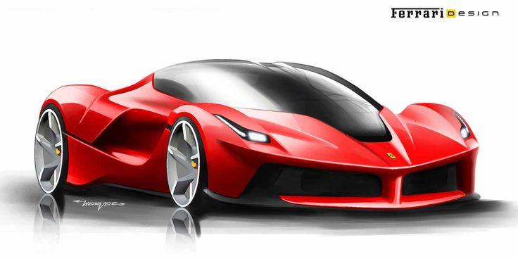 Ferrari Design Sketches Google Search Race Car Amp Super