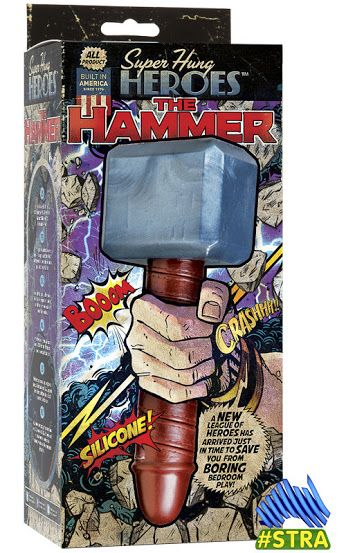 Sex Toy Lifestyle (Reviews/Links):   SEX TOY REVIEW: Super Hung Heroes: The Hammer by +Doc Johnson