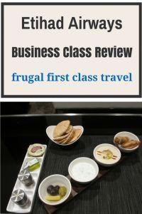 Etihad Airways Business Class review