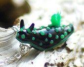 Mantis Shrimp Necklace Stomatopoda marine by indolentjellyfish