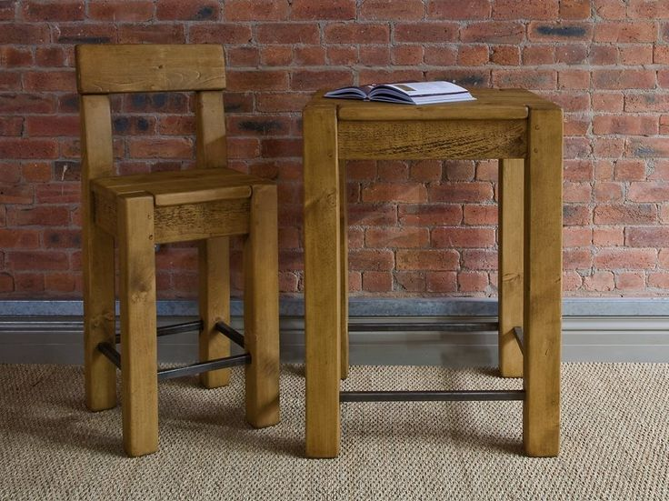 The Breakfast Table, Solid Wood Breakfast Bar Tables   Indigo Furniture