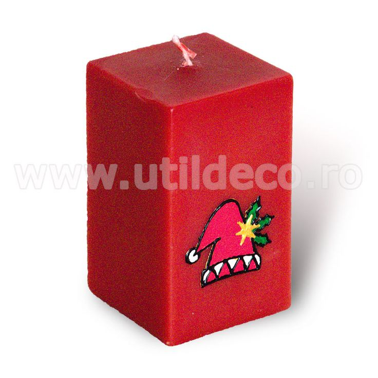 Lumanare tip cub - Util Deco