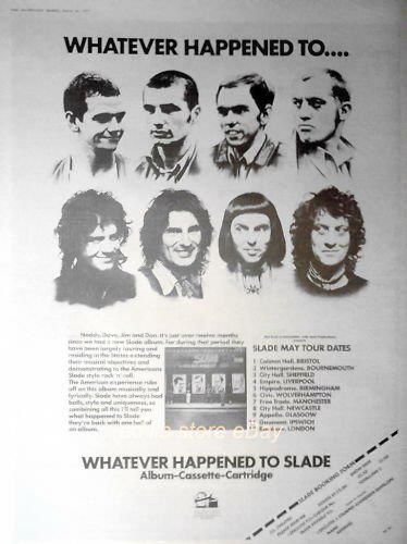 Slade #70s #poster #WHTS