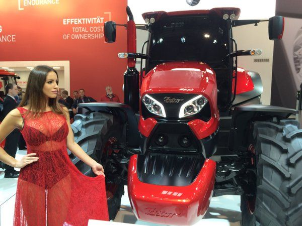 Big Zetor tractor at Agritechna Embedded image permalink