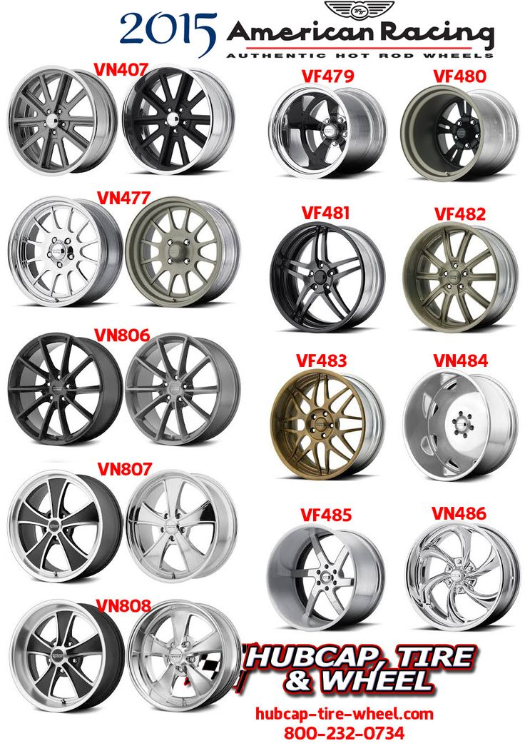 New 2015 American Racing Vintage Rims