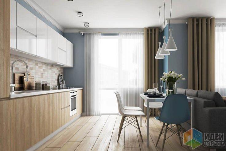 Хоть этот дизайн-проект и разрабатывался для квартиры, которую будут сдавать в аренду, многие идеи можно подчерпнуть для собственного жилья :) Главная особенность - это квартира-студия. То есть, спят, едят и принимают гостей в одной комнате....