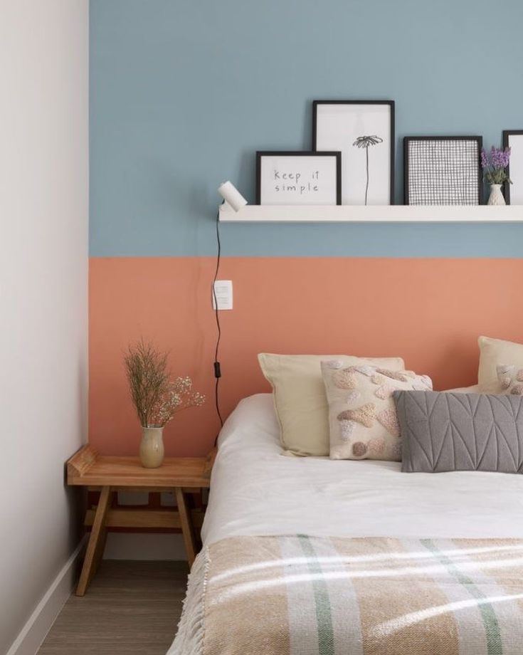 75 Romantic Bedroom Decor Ideas With Plant Theme - Home Decor - Bedroom Romantic Bedroom Decor, Home Decor Bedroom, Living Room Decor, Diy Home Decor, Bedroom Vintage, Bedroom Colors, Bedroom Apartment, Deco Rose, Vintage Industrial Decor
