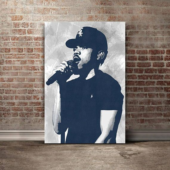 Chance The Rapper Canvas Print  Chance The Rapper Art  Music