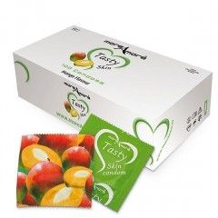 Prezerwatywy MoreAmore Tasty Skin - o zapachu Mango - 100 szt.