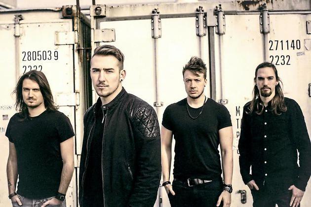 Coal Creekaus Münster: Rolf Hering, Julian Breucker, Simon Kempner und Hendrik Müller-Späth (v.l.) sind von amerikanischem Alternative Rock beeinflusst und wollen jetzt mit ihrem ersten Album durchstarten.