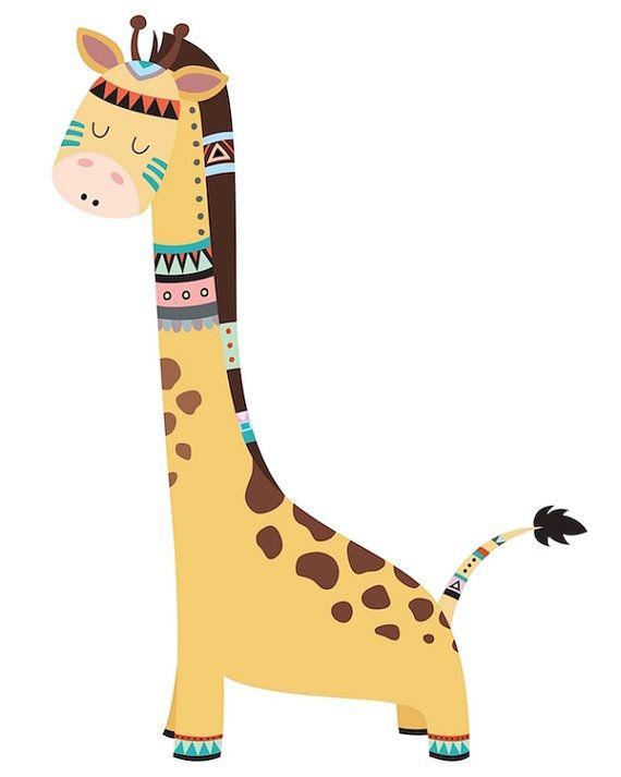 Giraffe Printable Giraffe Art Giraffe Nursery Art Giraffe