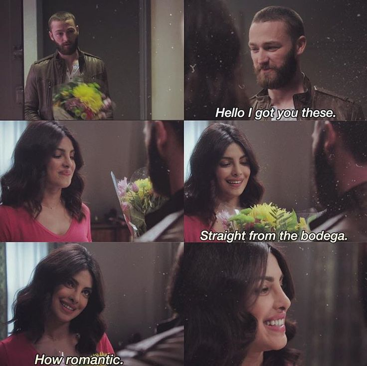 Girl where do your flower usually come from The Secret Garden? Ryan and Alex. Quantico finale. #Ralex (credit to the owner)