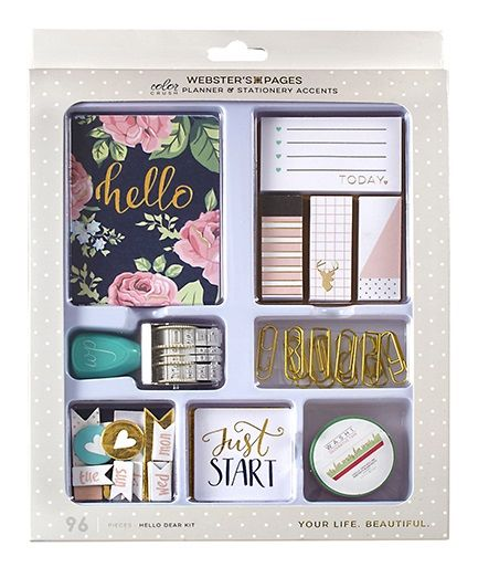 Websters+Pages+-+Color+Crush+Collection+-+Planner+Accent+Kit+-+Hello+Dear+at+Scrapbook.com