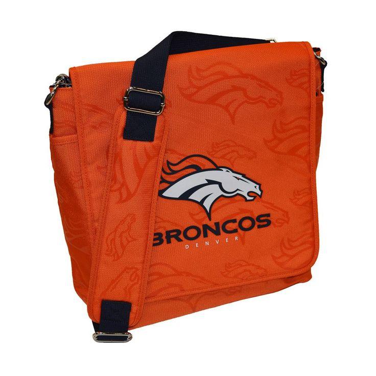 Denver Broncos Coach Messenger Baby Diaper Bag