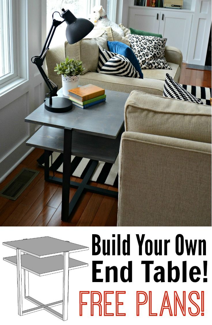 build your own end table plans woodworking projects plans. Black Bedroom Furniture Sets. Home Design Ideas