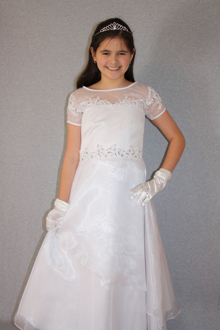 First Communion/Flower Girl Dresses from Silk n Satin Communion Dresses.