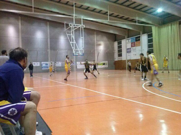 Sèniors: CB Tavernes - l'Olleria Bàsquet (18-1-2014).