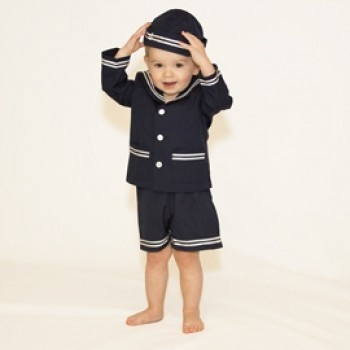 Nautical Suit with Hat Nautical Fashions
