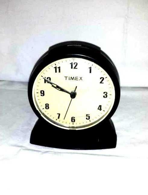 Vintage Timex Alarm Clock,Round Alarm Clock,Electric Alarm Clock,Timex Clock,Timex Electric Clock,Round Timex Alarm Clock,Collectible Clock by JunkYardBlonde on Etsy
