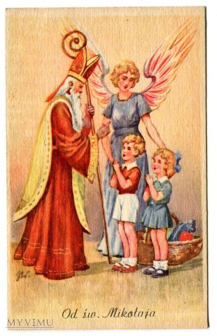 Święty Mikołaj z PRL-u Święta Anioł Dzieci
