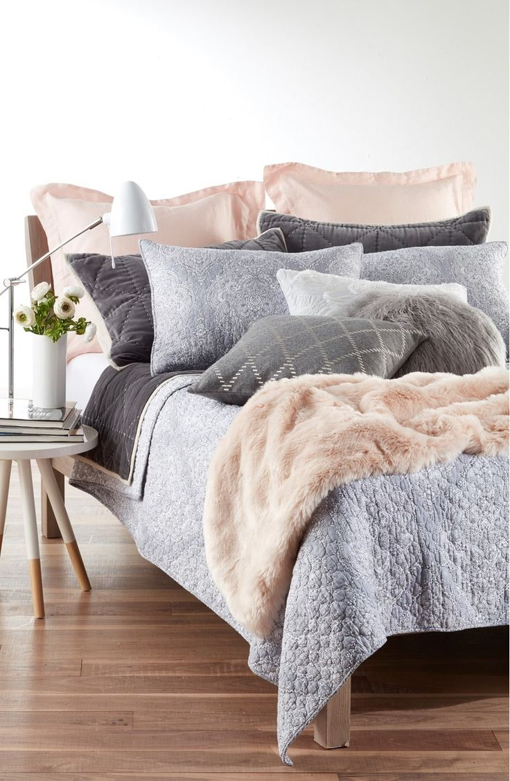 Soft Colors Paired With A Variety Of Textures Create A