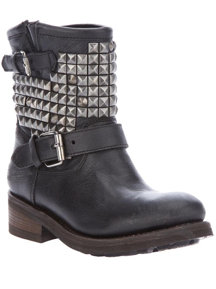 Ash 'studded biker boots'