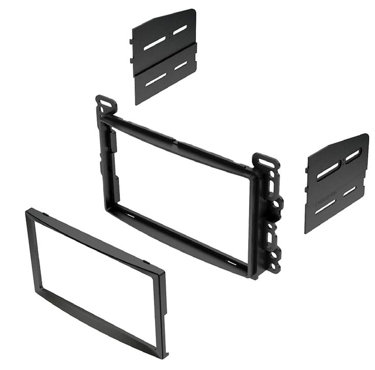 IMC Audio Double Din Dash Kit for Aftermarket Radio Installation for Chevrolet Pontiac Saturn