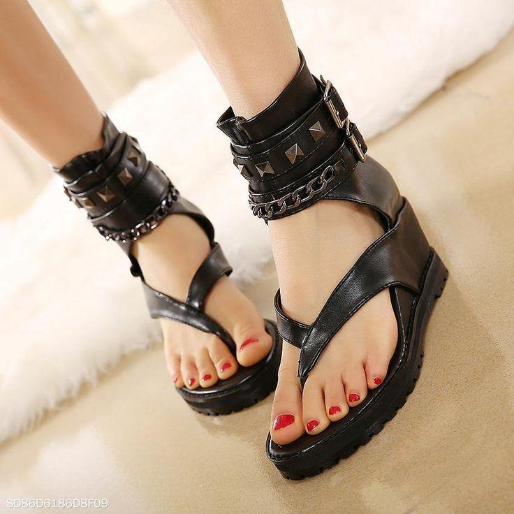 Lace Women Sandals   Gladiator sandals heels, Wedding