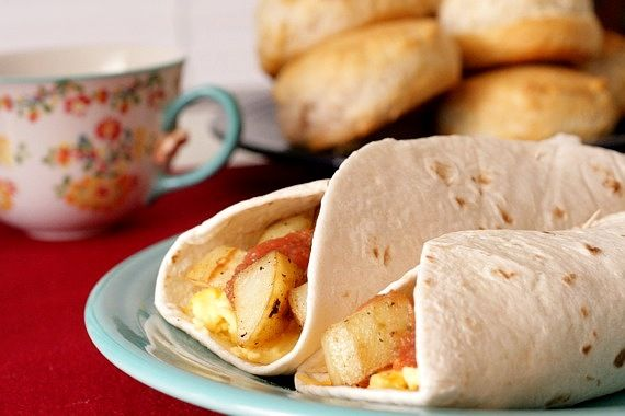 Potato, Egg, and Cheese Breakfast Taquitos