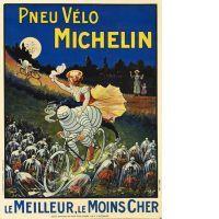 Louis HINDRE  PNEU VÉLO MICHELIN - LE MEILLEUR, LE MOINS CHER - 1911