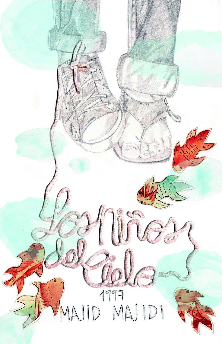 Afiche alusivo a la película los Niños del Cielo 1997- Laura Victoria Velásquez