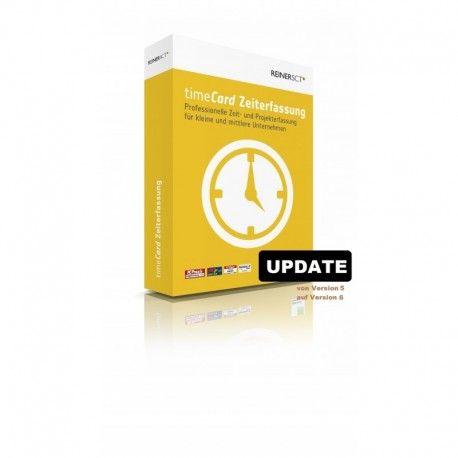 Reiner SCT timeCard Update von der Version 5 auf 6 #Zeiterfassung #timeCard #Reiner SCT #Update