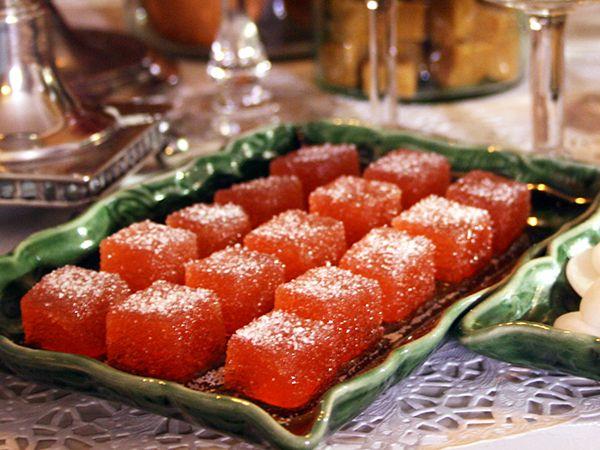 Det är enkelt att göra eget marmeladgodis. Här är Ernsts variant med äpplen, smaksätt med saffran eller mynta om du vill. (kokk Ernst Kirschsteiger)