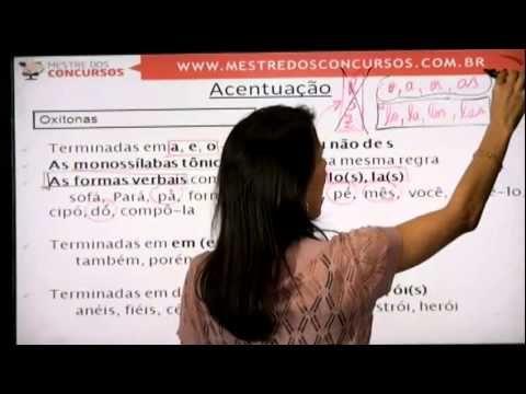 ACENTUAÇÃO - PARTE 1 -  Profª Rafaela Motta