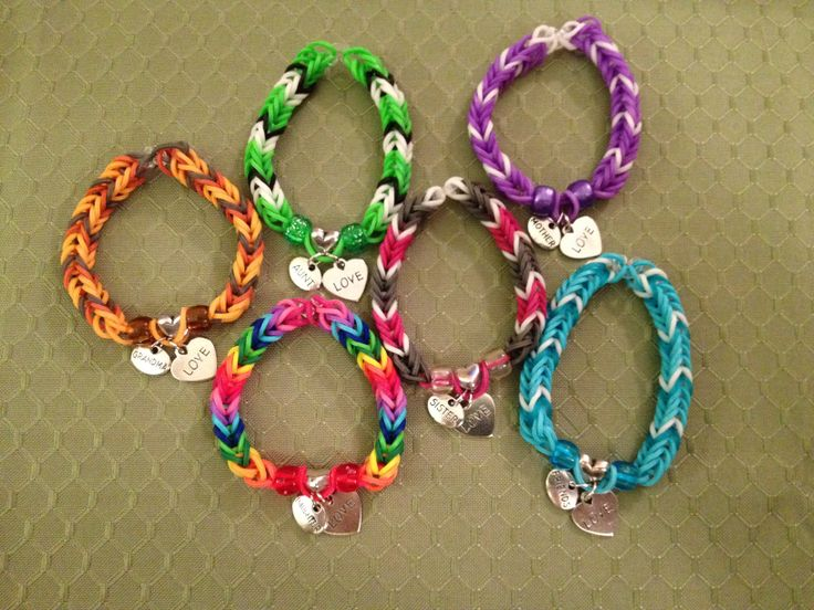 Specialty Charm Rainbow Loom Bracelets See More At Www
