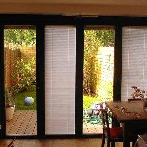 96 best shutters images on pinterest plantation shutter shutters and window shutters - Sliding Glass Door Window Treatments