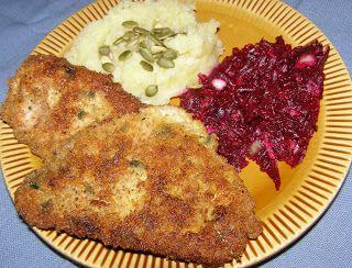 W Mojej Kuchni Lubię.. : czosnkowe schabowe na pyszny obiad...