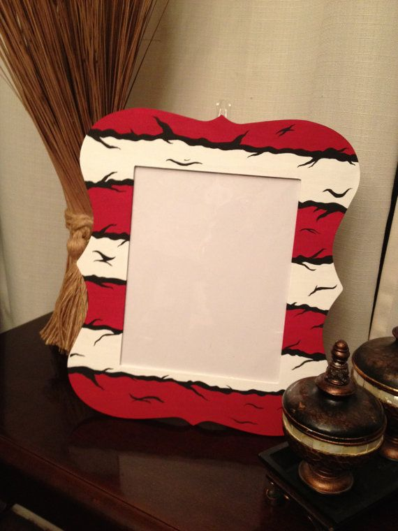 Dr Seuss Cat In The Hat Picture Frame 8x10 Children Wall