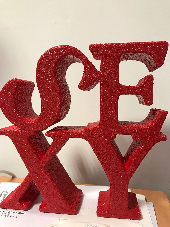 #polymass #design #custommade #bedifferentitaly #tuscany #madeinitaly #alphabet #sexy