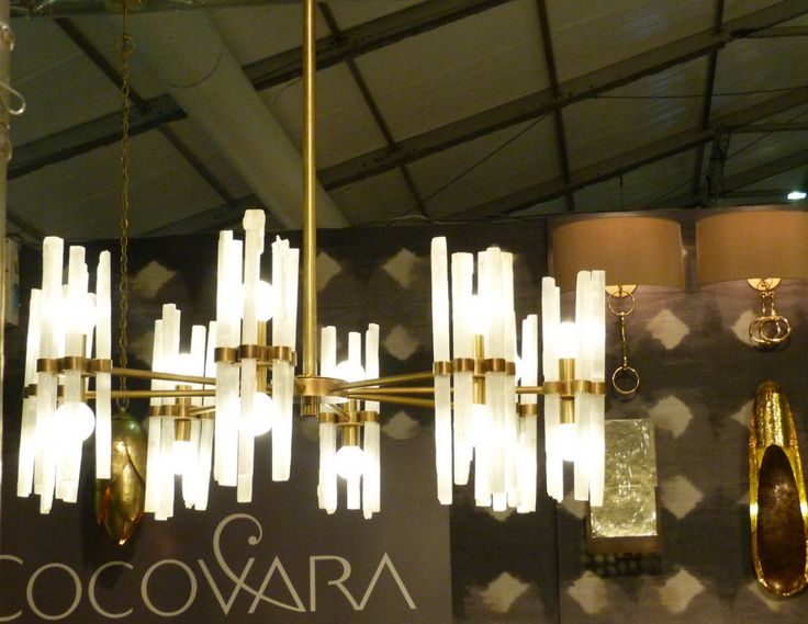 Rock crystal chandelier - Phillips & Wood for Cocovara Interior Designers
