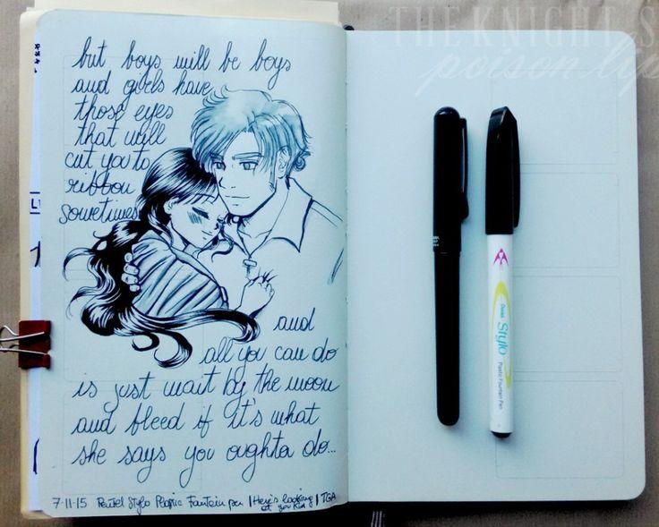 Ilaria Guinness ART - sketchbook manga pentel stylo (Moleskine Sketchbook)
