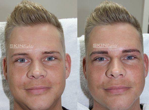 Permanent make up männer