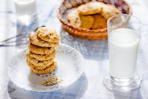 Рецепт мягкого овсяного печенья с творогом