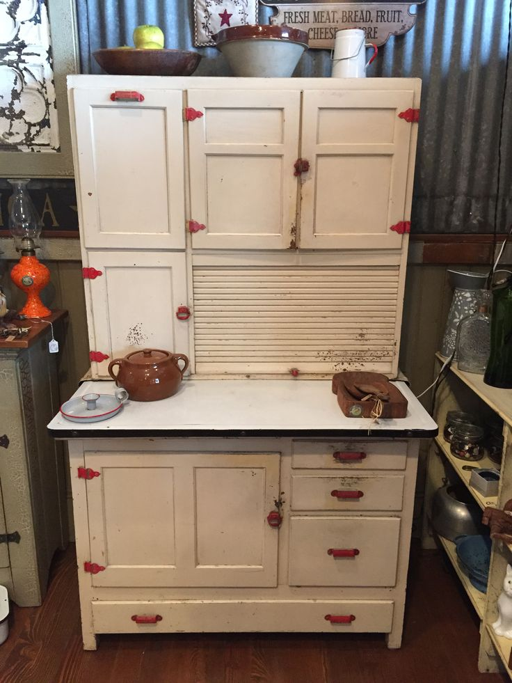 474 best Hoosier Cabinets/Pie Safes images on Pinterest ...