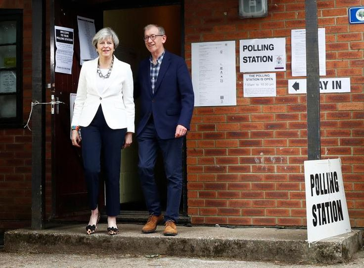 As of 6 o'clock this evening, Prime Minister Theresa May's Conservative Party will fail to win a parliamentary majority in Britain's election, according to an exit poll on Thursday, a shock result that would plunge domestic politics into turmoil and could delay Brexit talks.