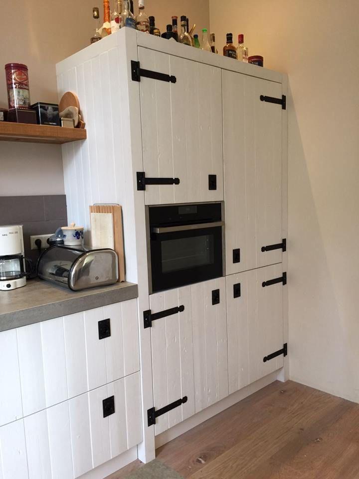 7 beste afbeeldingen van witte keukens keuken idee n for Keuken van sloophout