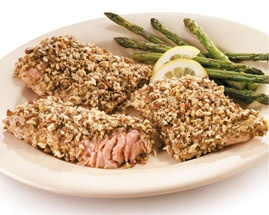 Pecan Crusted Salmon | Delicacy | Pinterest