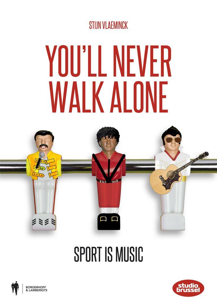 Eindeloos grasduinen doorheen de gemeenschappelijke geschiedenis van topsport en populaire muziek! >> You'll never walk alone - Stijn Vlaeminck - Borgerhoff & Lamberigts - 208 pag. - €24,95 - ISBN 9789089315311