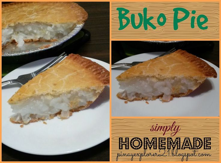 Simply Homemade -Buko Pie Recipe Sweet Morning Everyone! How you guys doing? It's been a hectic and cold week for me! Yup- it...