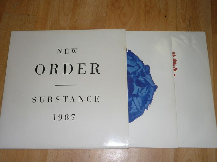NEW ORDER - Substance - UK DOUBLE LP - FACTORY FACT 200
